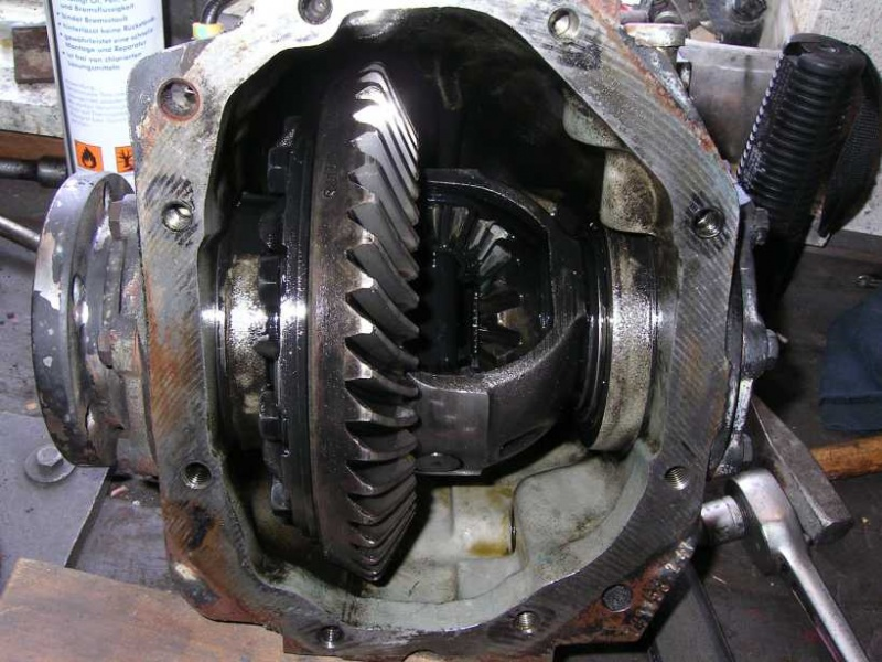 Suzuki Jimny Differential